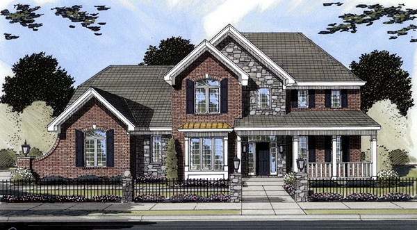 House Plan 50094 Elevation