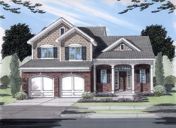 Traditional House Plan 50106 Elevation
