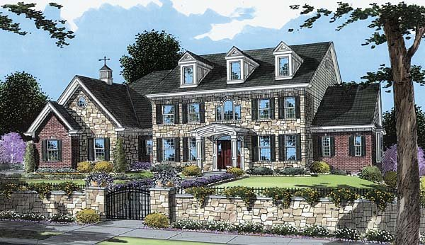 Traditional House Plan 50108 Elevation