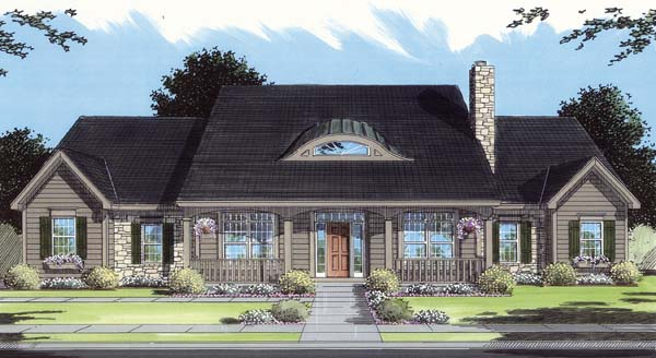 Country House Plan 50109 Elevation