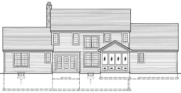 Country House Plan 50109 Rear Elevation
