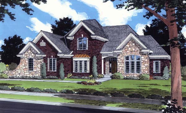 Traditional House Plan 50113 Elevation