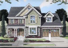 House Plan 50118 | Country Traditional Style Plan with 2246 Sq Ft, 4 Bedrooms, 2 Bathrooms, 2 Car Garage Elevation