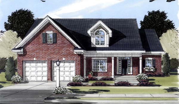 Southern House Plan 50121 Elevation