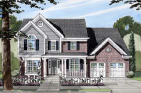 Traditional House Plan 50123 Elevation