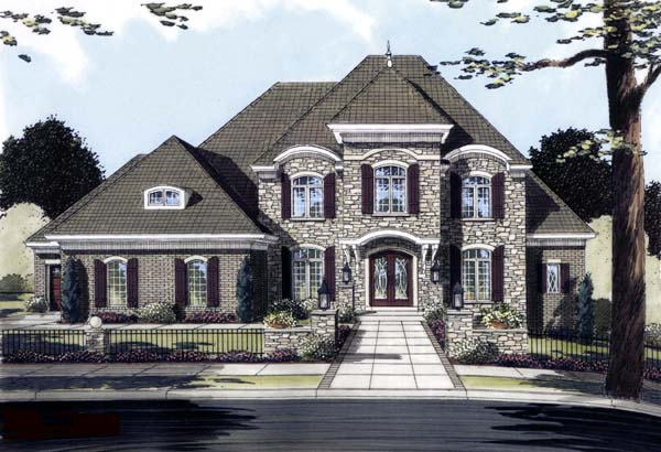 Traditional House Plan 50125 Elevation