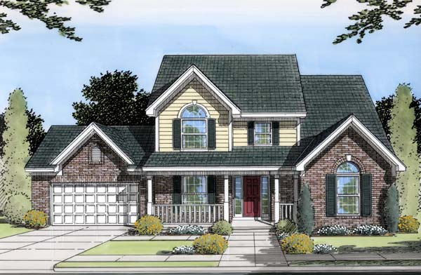 Traditional House Plan 50126 Elevation