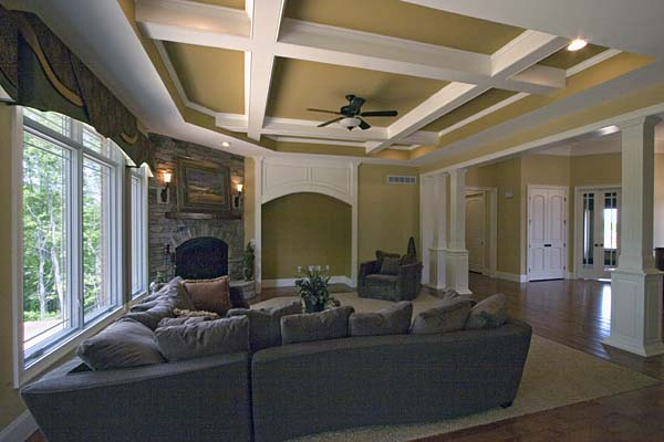 Craftsman House Plan 50138 with 4 Beds, 3 Baths, 3 Car Garage Picture 6