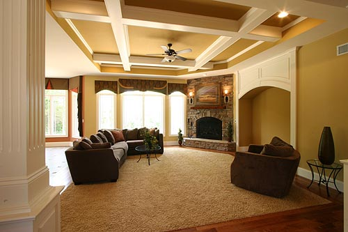 Craftsman House Plan 50138 with 4 Beds, 3 Baths, 3 Car Garage Picture 3