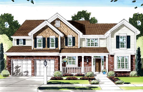 Traditional House Plan 50141 Elevation