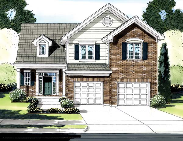 Traditional House Plan 50146 Elevation