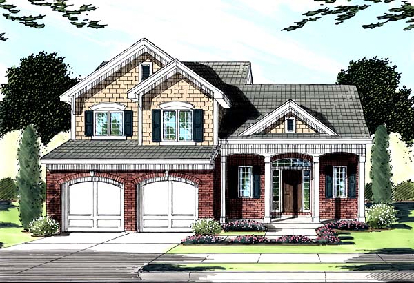 Traditional House Plan 50147 Elevation