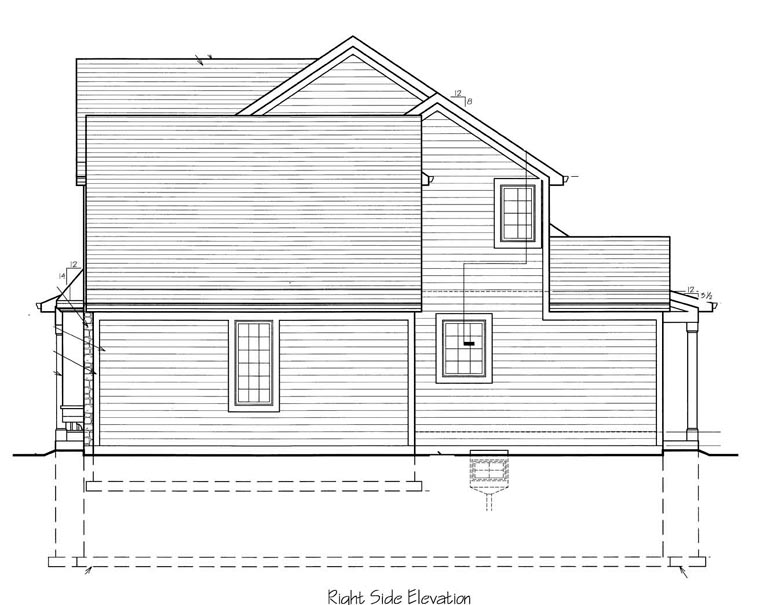 Craftsman House Plan 50150 with 4 Beds, 3 Baths, 2 Car Garage Picture 2