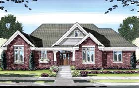 Craftsman House Plan 50155 Elevation