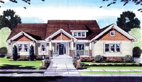 Craftsman House Plan 50159 Elevation