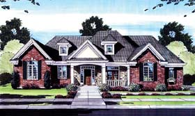 Traditional House Plan 50161 Elevation