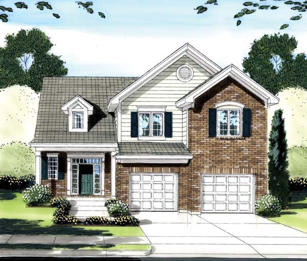 Traditional House Plan 50162 Elevation