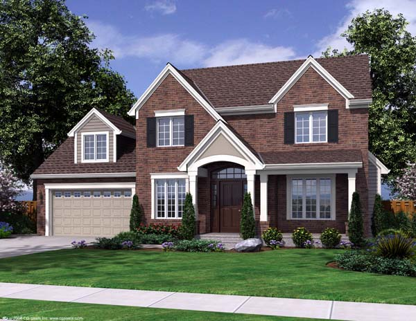 Traditional House Plan 50167 Elevation