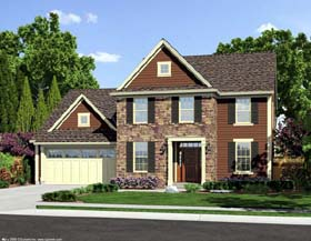 Traditional House Plan 50172 Elevation