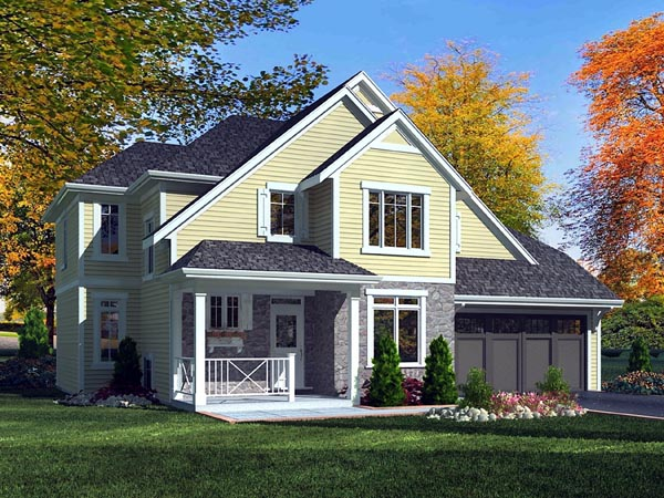 Craftsman House Plan 50174 Elevation