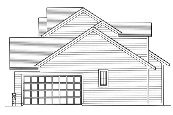 Traditional House Plan 50189 with 3 Beds, 3 Baths, 2 Car Garage Picture 2