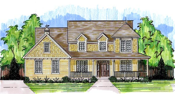 Traditional House Plan 50192 Elevation