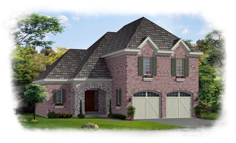 Traditional House Plan 50193 Elevation