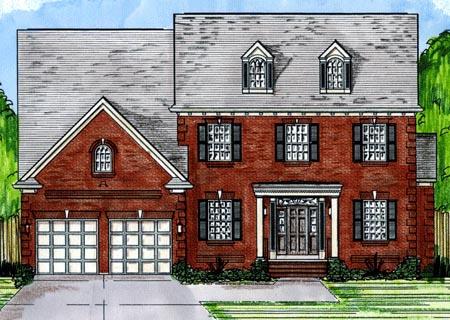 Craftsman House Plan 50194 Elevation