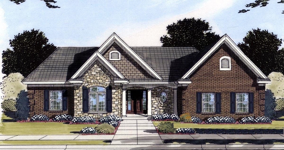 House Plan 50196 at FamilyHomePlanscom
