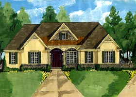 Traditional House Plan 50199 Elevation