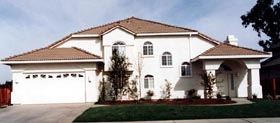 Mediterranean House Plan 50230 with 4 Beds, 3 Baths, 2 Car Garage Elevation