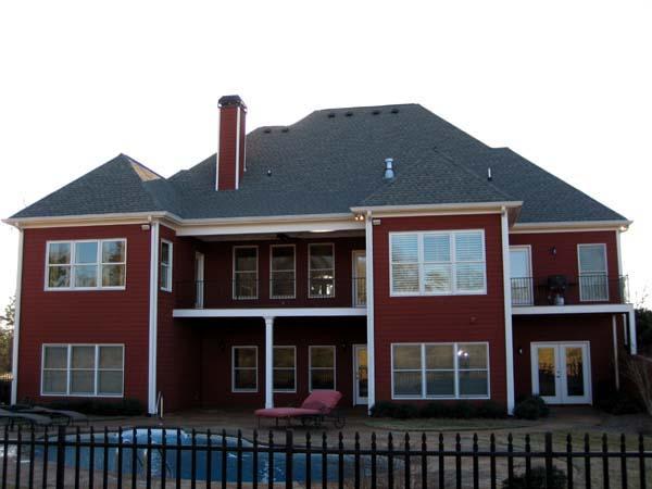Florida House Plan 50242 Rear Elevation