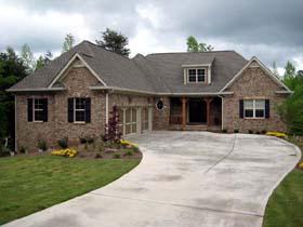 European House Plan 50245 with 4 Beds, 5 Baths, 3 Car Garage Elevation