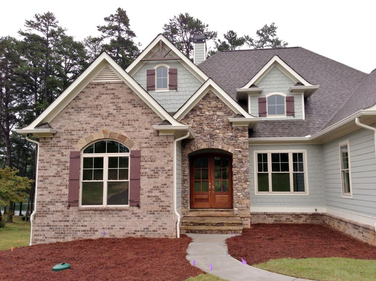 Cottage Craftsman French Country House Plan 50256