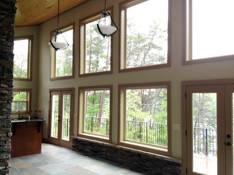Contemporary Craftsman Modern Prairie Style House Plan 50258