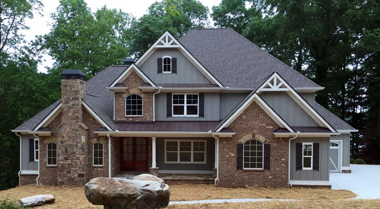 Craftsman french country traditional house plan 50263 for Traditional craftsman house plans