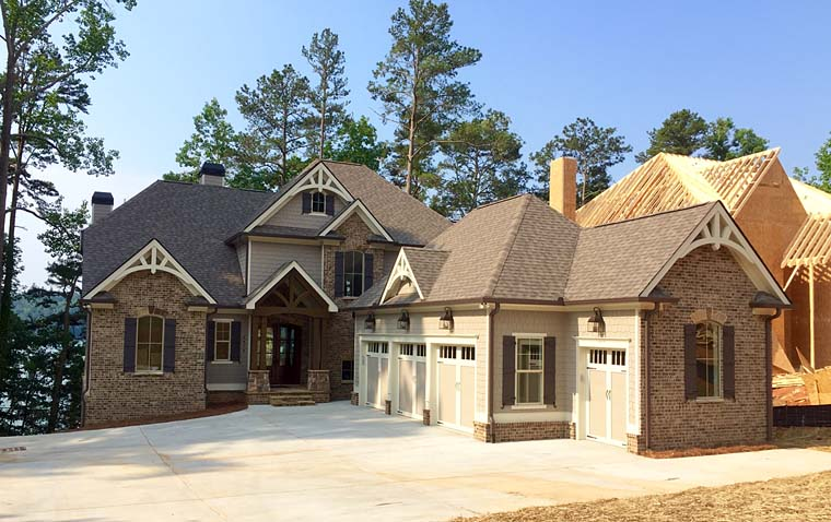 Traditional , Southern , Craftsman , Country House Plan 50270 with 4 Beds, 4 Baths, 3 Car Garage Elevation