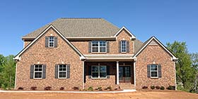 House Plan 50272 | Traditional Style Plan with 2270 Sq Ft, 4 Bedrooms, 4 Bathrooms, 3 Car Garage Elevation