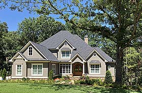 Southern Traditional House Plan 50276 Elevation