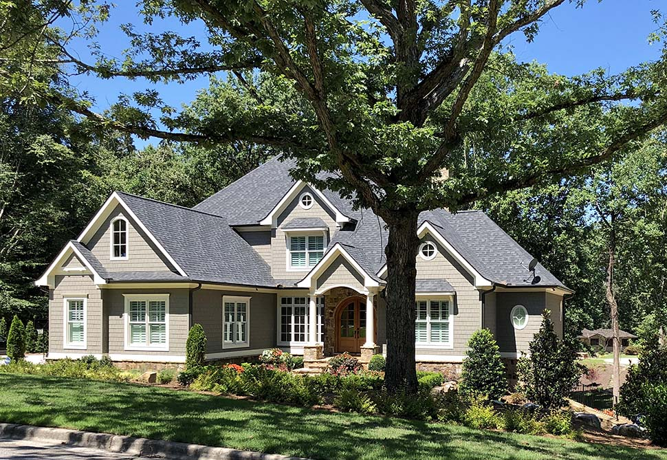 Southern, Traditional House Plan 50276 with 4 Beds, 4 Baths, 3 Car Garage Picture 2