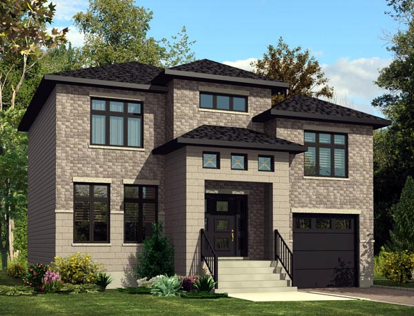 Contemporary House Plan 50306 Elevation