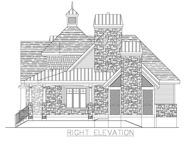 Colonial House Plan 50313 with 3 Beds, 3 Baths Picture 2