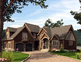 Colonial House Plan 50314 Elevation
