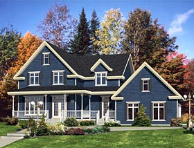 Country Traditional House Plan 50325 Elevation