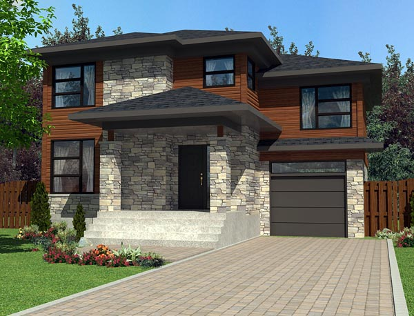 Contemporary House Plan 50329 Elevation