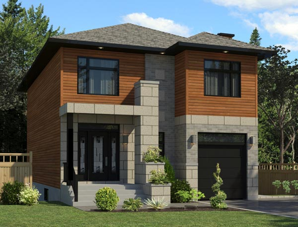 Contemporary House Plan 50353 Elevation