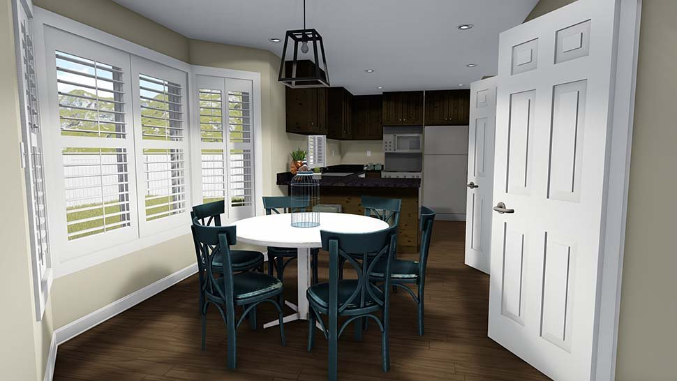 House Plan 50401 with 6 Beds, 4 Baths, 2 Car Garage Picture 9