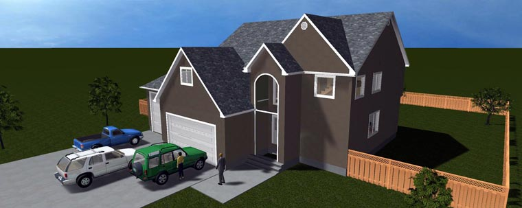 House Plan 50422 with 6 Beds, 5 Baths, 4 Car Garage Picture 10