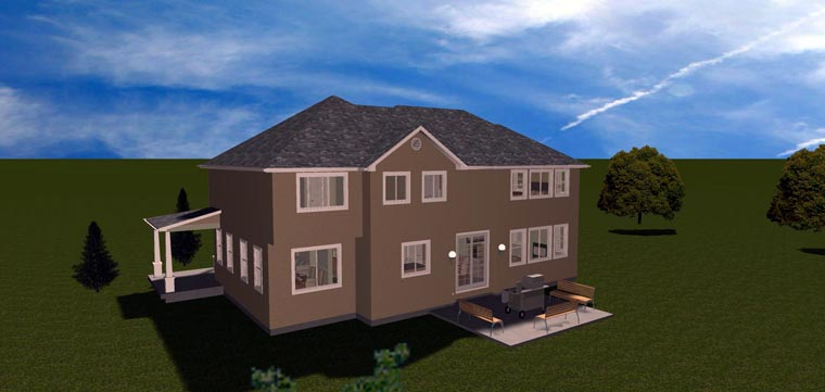 House Plan 50423 with 7 Beds, 4 Baths, 3 Car Garage Picture 17