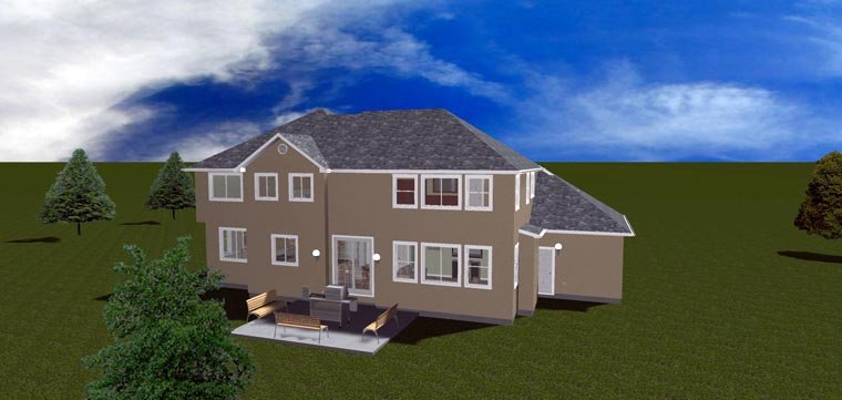 House Plan 50423 with 7 Beds, 4 Baths, 3 Car Garage Picture 21